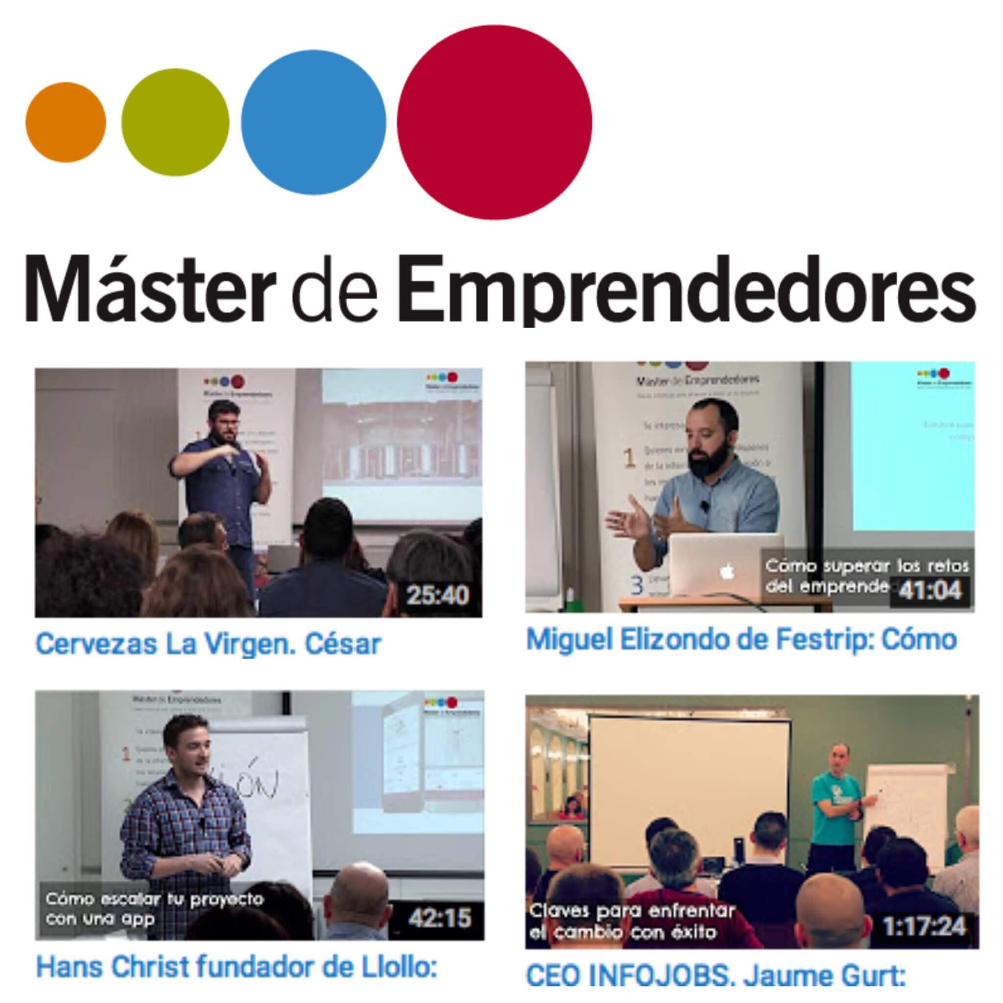 Conferencias de emprendedores